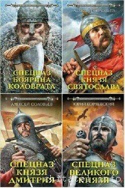 Серия - Спецназ древней Руси (6 книг)